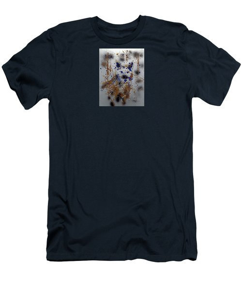The Lone Wolf  Canis Lupus Men's T-Shirt (Athletic Fit)