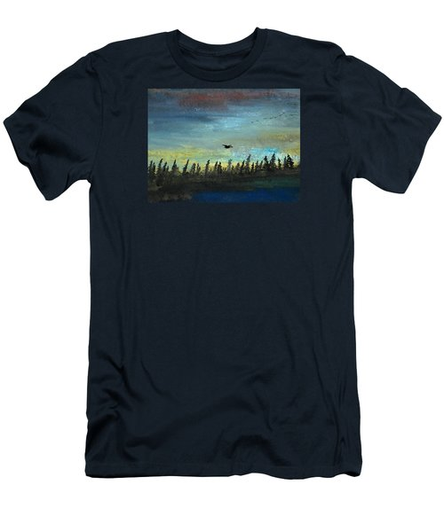 The Loner Men's T-Shirt (Slim Fit) by R Kyllo