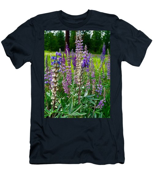 The Lupine Crowd Men's T-Shirt (Athletic Fit)
