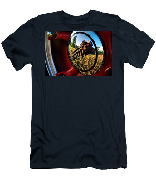 The Mack Truck Men's T-Shirt (Slim Fit) by Linda Unger