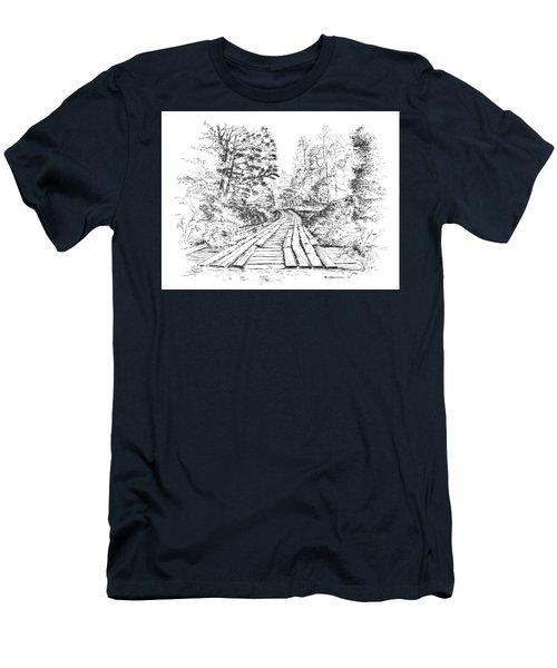 The Mcneely Bridge Men's T-Shirt (Athletic Fit)