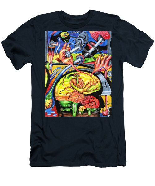 The Mechanics Of Consciousness Men's T-Shirt (Athletic Fit)