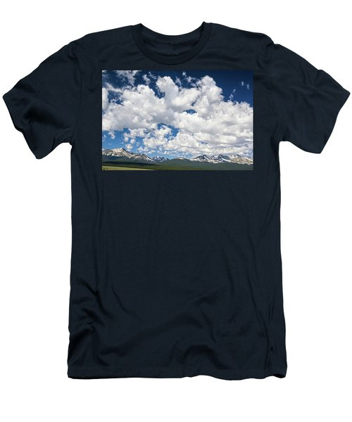 The Mid Point Between Ante Meridiem And Post Meridiem, Between A.m. And P.m.  Men's T-Shirt (Athletic Fit)