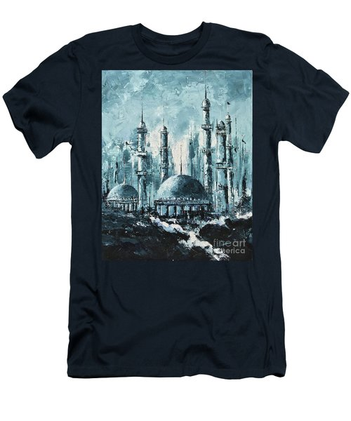 The Mosque-2 Men's T-Shirt (Athletic Fit)