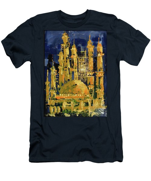 The Mosque-3 Men's T-Shirt (Athletic Fit)