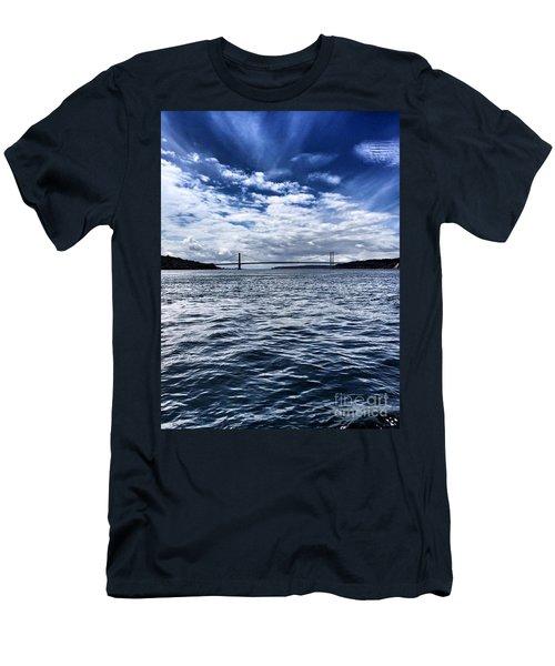 The Narrows Bridge  1 Men's T-Shirt (Athletic Fit)
