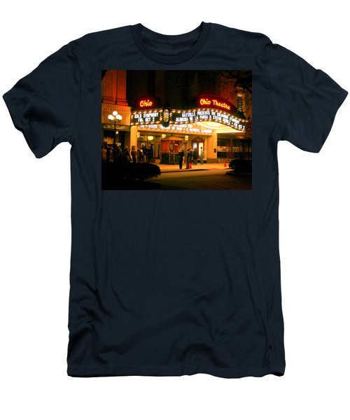 The Ohio Theater At Night Men's T-Shirt (Athletic Fit)