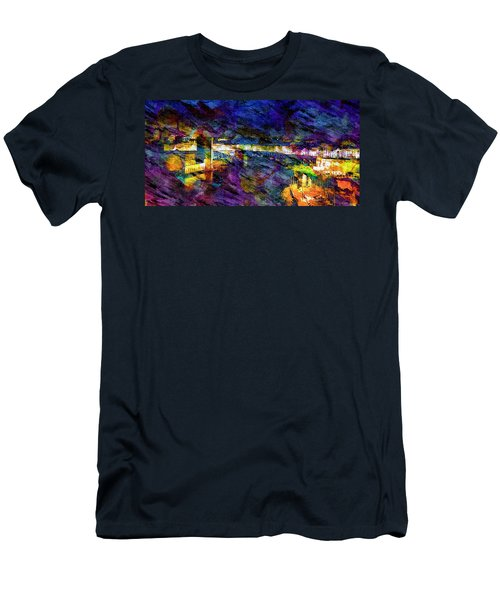 The Old Port Marseille 1 Men's T-Shirt (Athletic Fit)