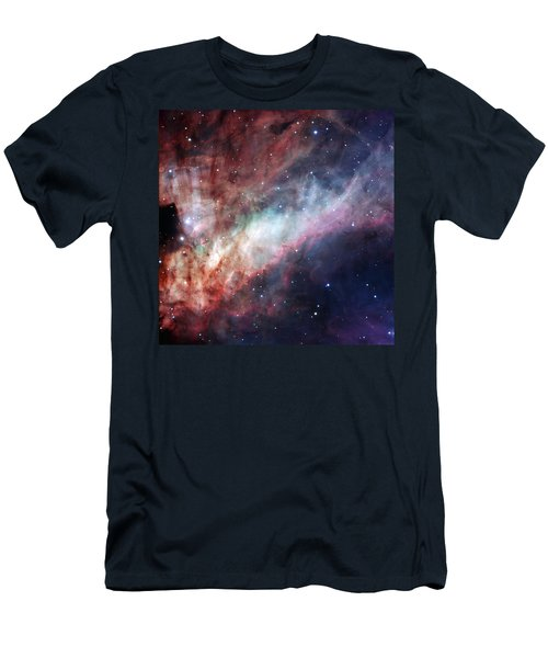 Men's T-Shirt (Slim Fit) featuring the photograph The Omega Nebula by Eso