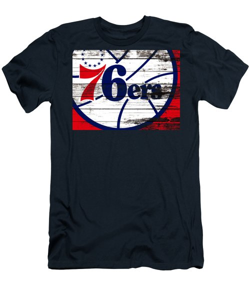 The Philadelphia 76ers 3e       Men's T-Shirt (Slim Fit) by Brian Reaves
