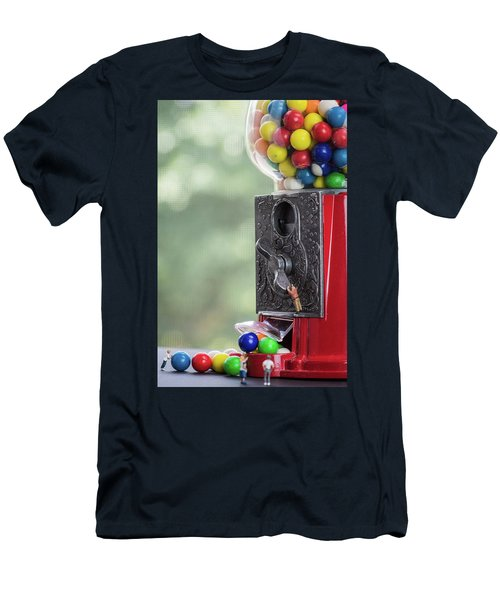 The Problem With Gumball Machines Men's T-Shirt (Athletic Fit)