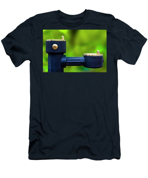 Men's T-Shirt (Athletic Fit) featuring the photograph The Quencher by Paul Wear