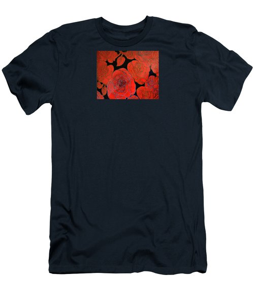 The Red Red Roses Men's T-Shirt (Athletic Fit)