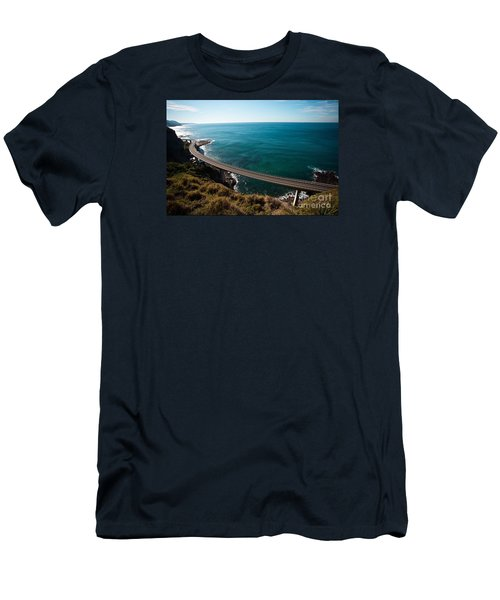 The Road Above The Sea Men's T-Shirt (Athletic Fit)