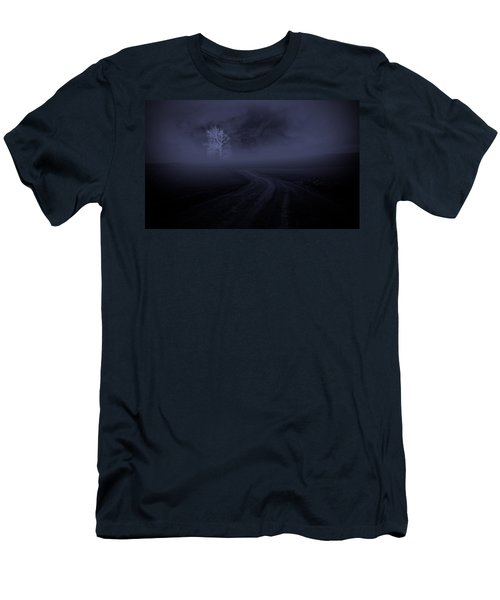 Men's T-Shirt (Slim Fit) featuring the photograph The Road by Robert Geary