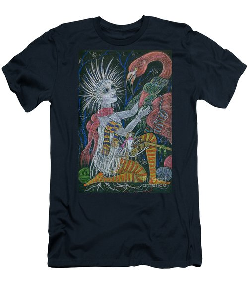 The Snow Queen Men's T-Shirt (Slim Fit) by Dawn Fairies