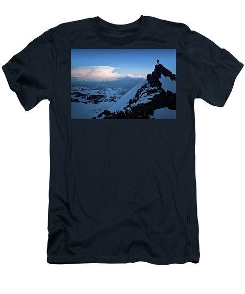 The Sunset Wave Men's T-Shirt (Athletic Fit)