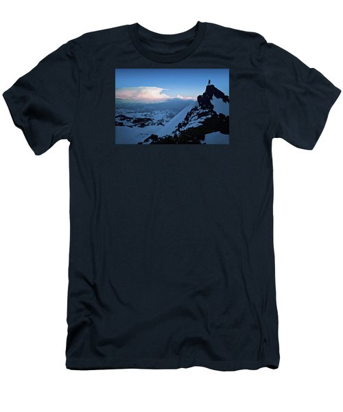 The Sunset Wave Men's T-Shirt (Athletic Fit)