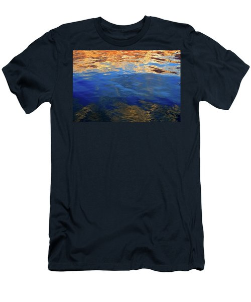 The Surface Is A Reflection  Men's T-Shirt (Slim Fit)