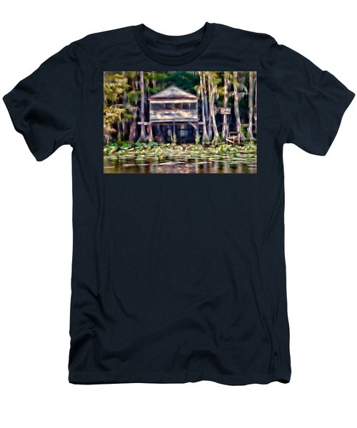 The Tea Room Men's T-Shirt (Slim Fit) by Lana Trussell