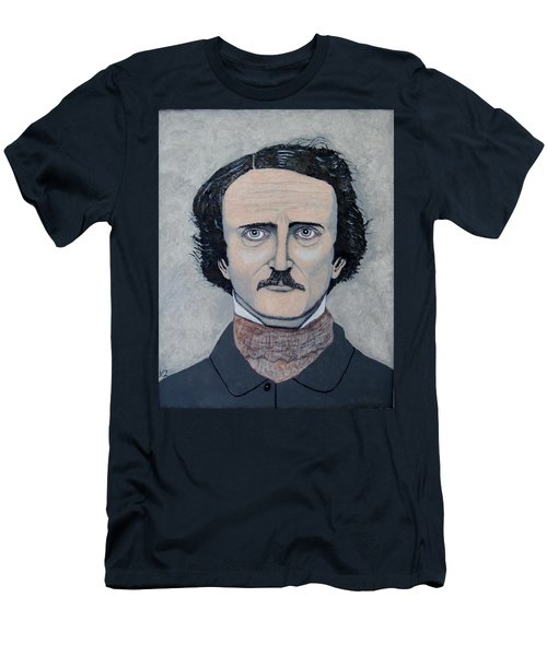 The Telltale Heart Of Edgar Allen Poe. Men's T-Shirt (Athletic Fit)