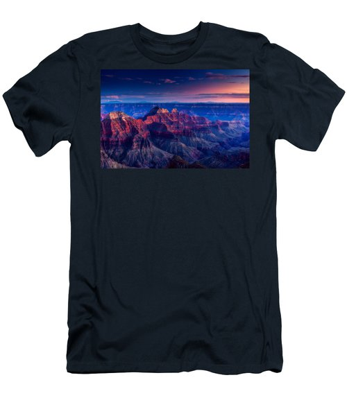 The Temples And Bright Angel Canyon Men's T-Shirt (Athletic Fit)