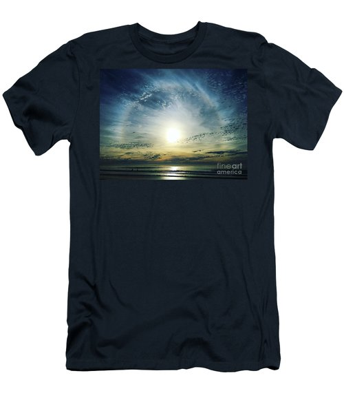 The Voice Of The Lord Is Over The Waters... Men's T-Shirt (Slim Fit) by Sharon Soberon