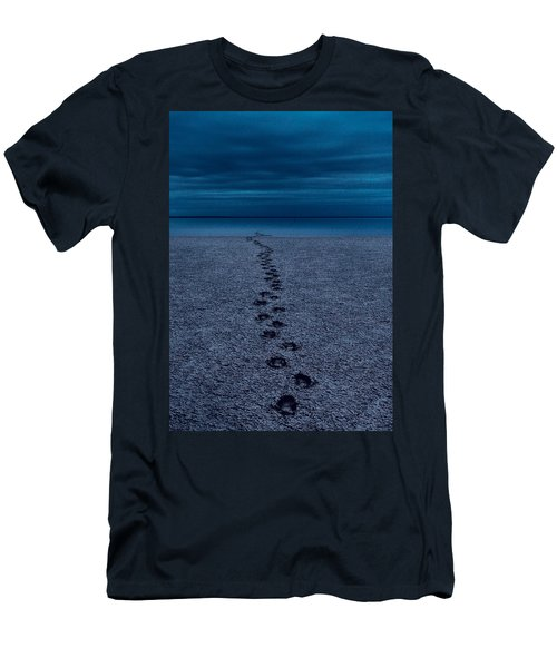 Men's T-Shirt (Athletic Fit) featuring the photograph The Way Back by Julian Cook