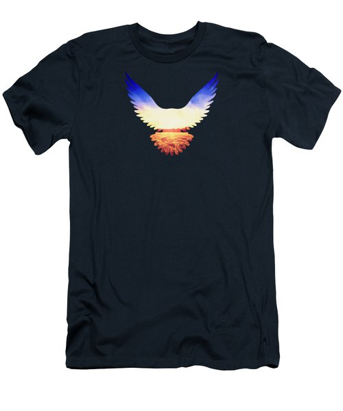 The Wild Wings Men's T-Shirt (Slim Fit) by Philipp Rietz