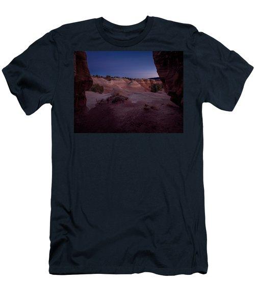 The Window In Desert Men's T-Shirt (Athletic Fit)