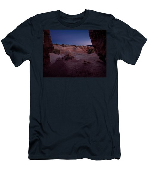 The Window In Desert Men's T-Shirt (Athletic Fit)