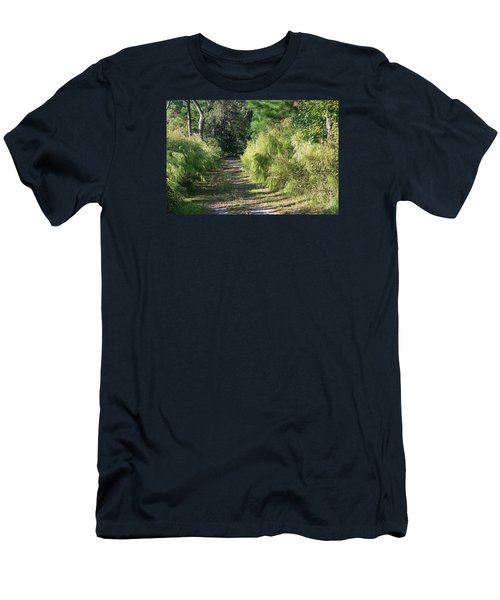 The Yellow Trail Men's T-Shirt (Athletic Fit)