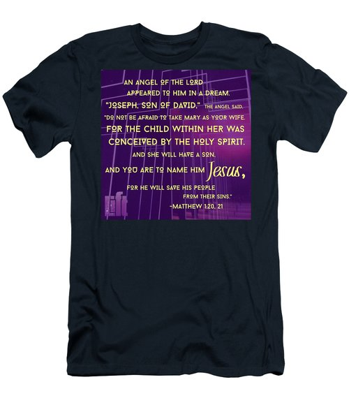 This Is How Jesus The Messiah Was Born Men's T-Shirt (Athletic Fit)