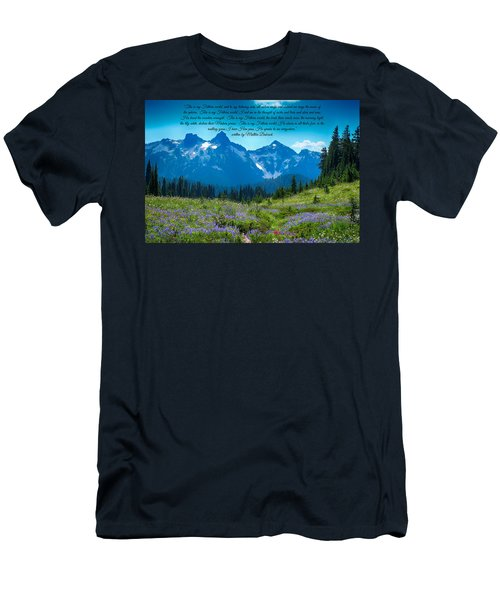 This Is My Fathers World 3 Men's T-Shirt (Slim Fit) by Lynn Hopwood