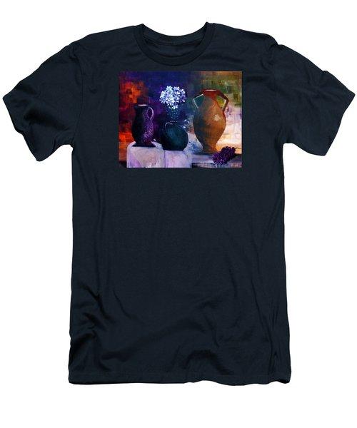 Three Best Friends Men's T-Shirt (Slim Fit) by Lisa Kaiser