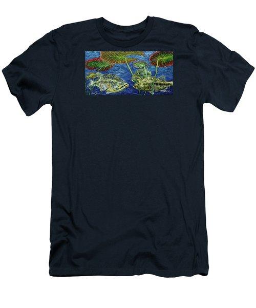 Three Musketeers Men's T-Shirt (Slim Fit) by David Joyner