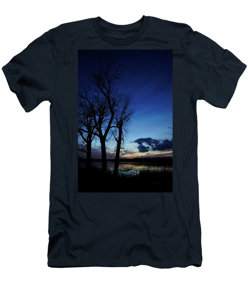 Men's T-Shirt (Slim Fit) featuring the photograph Three Sisters by Cricket Hackmann