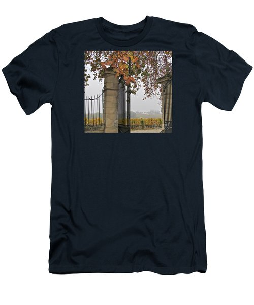 Through The Gates Men's T-Shirt (Athletic Fit)