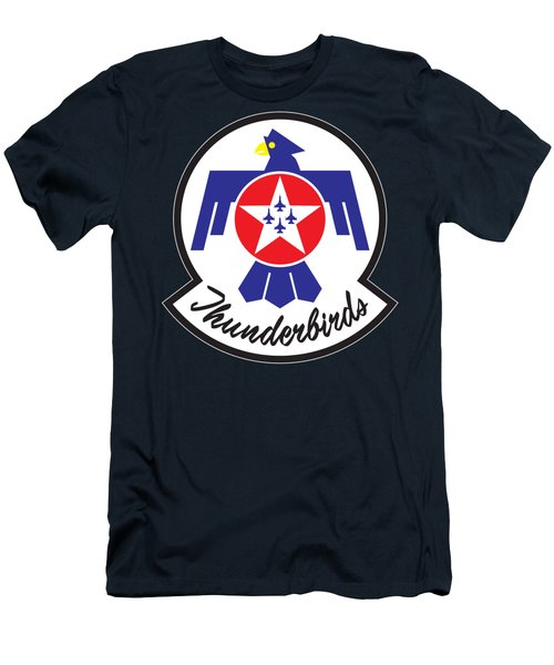 Thunderbirds Logo Men's T-Shirt (Athletic Fit)