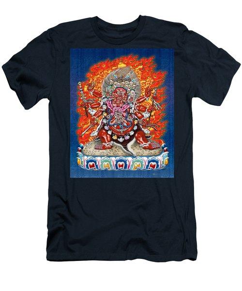 Tibetan Thangka Remake - Hayagriva Men's T-Shirt (Athletic Fit)