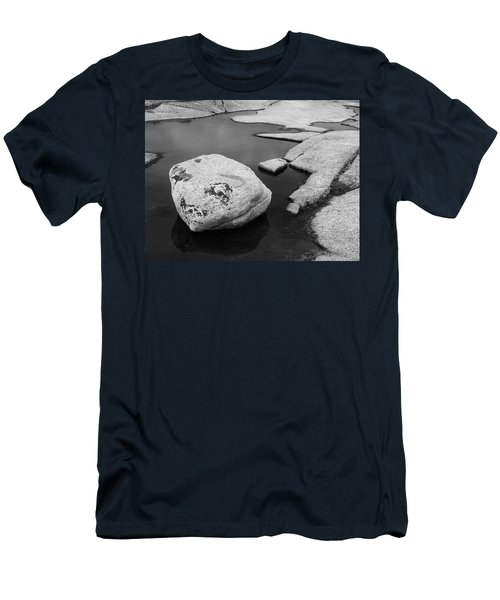 Tide Pool Boulder Men's T-Shirt (Athletic Fit)