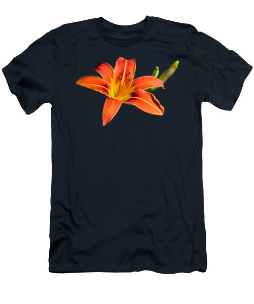 Tiger Lily Men's T-Shirt (Slim Fit) by Christina Rollo