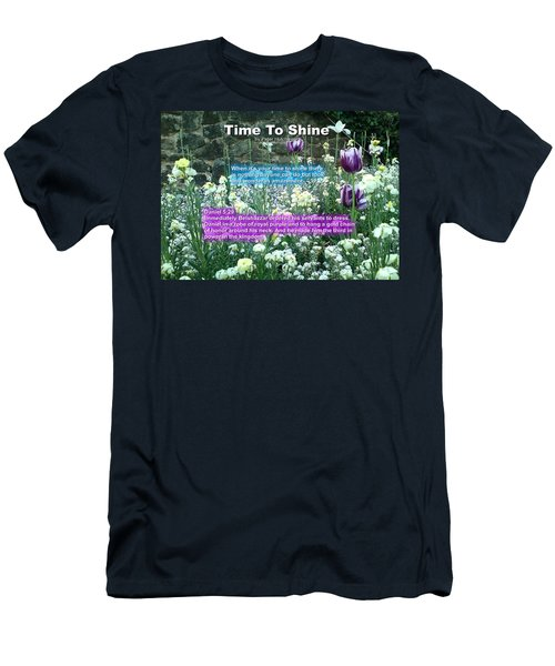 Time To Shine Men's T-Shirt (Athletic Fit)