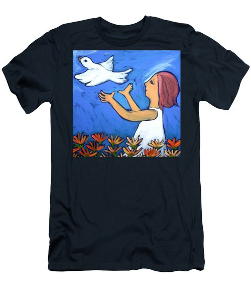 To Fly Free Men's T-Shirt (Slim Fit) by Winsome Gunning