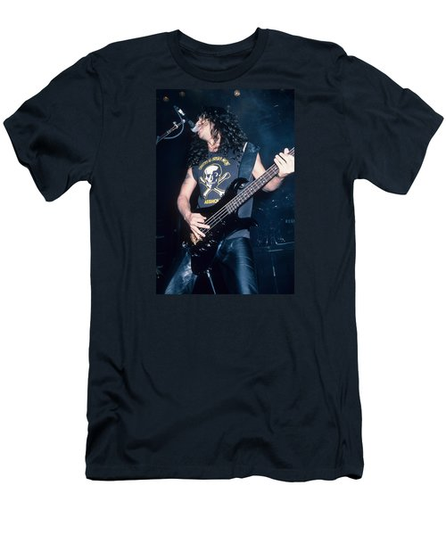 Tom Araya Of Slayer Men's T-Shirt (Athletic Fit)