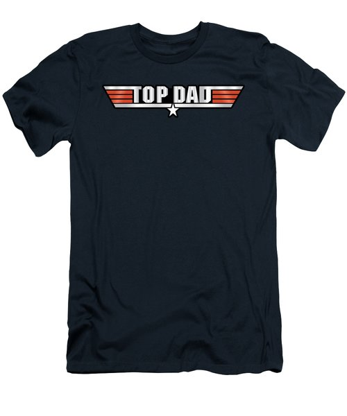 Top Dad Callsign Men's T-Shirt (Slim Fit)