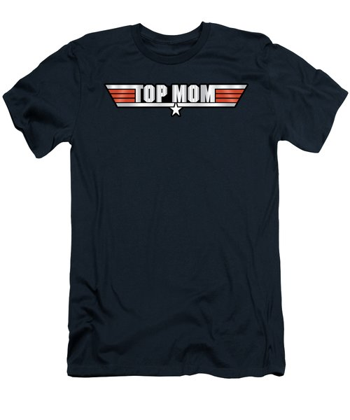 Top Mom Callsign Men's T-Shirt (Slim Fit) by Fernando Miranda