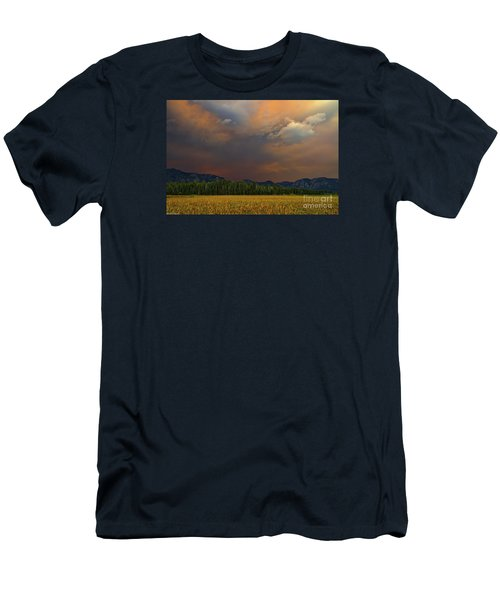 Tormented Sky Men's T-Shirt (Slim Fit) by Mitch Shindelbower
