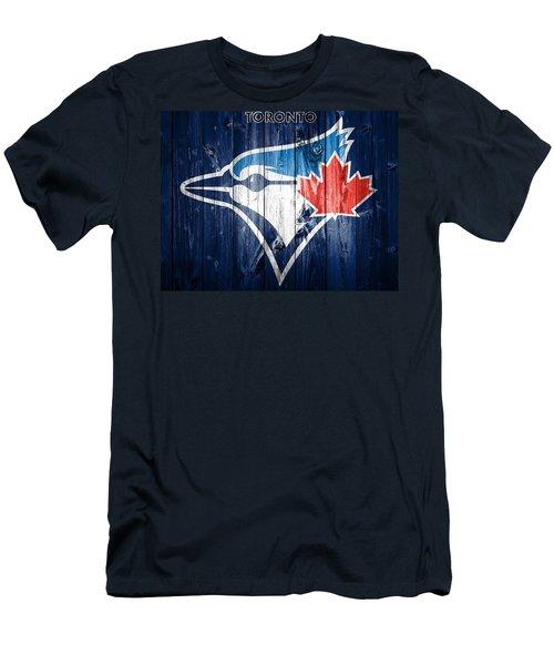Toronto Blue Jays Barn Door Men's T-Shirt (Athletic Fit)