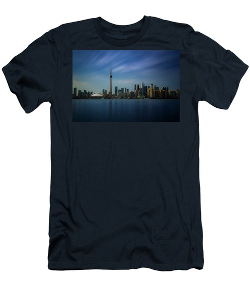 Toronto Cityscape Men's T-Shirt (Athletic Fit)